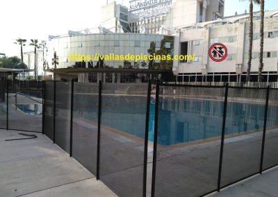 Hotel Al Andalus Sevilla vallas proteccion piscinas (2)