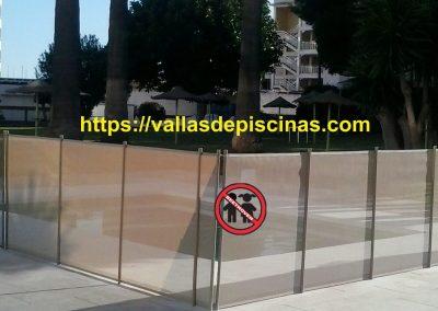 Hotel San Fermin en Benalmadena instalacion vallas para piscinas (4)