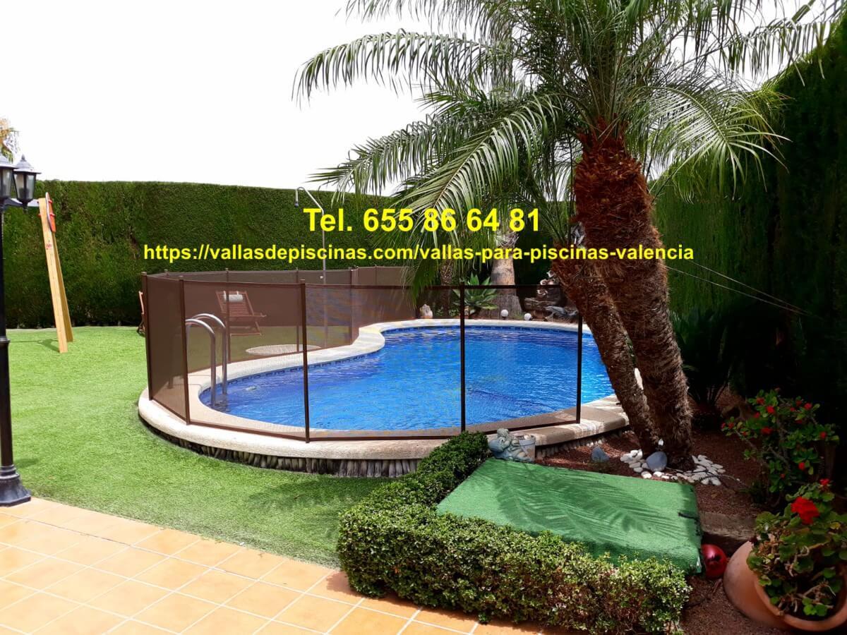 Instalación Vallas de piscinas beethoven Torrevieja Alicante Valencia