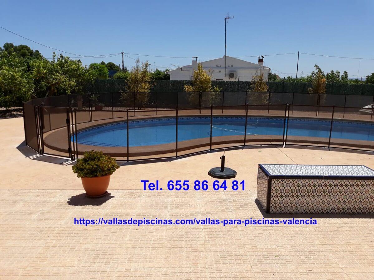 Instalación Vallas para piscinas beethoven Elche Alicante Valencia precio
