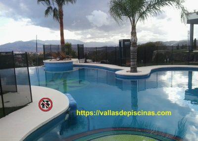 casa en montes de malaga vallas de piscinas proteccion